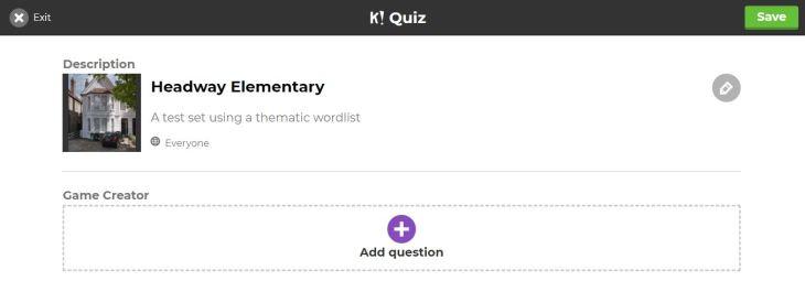 add question K